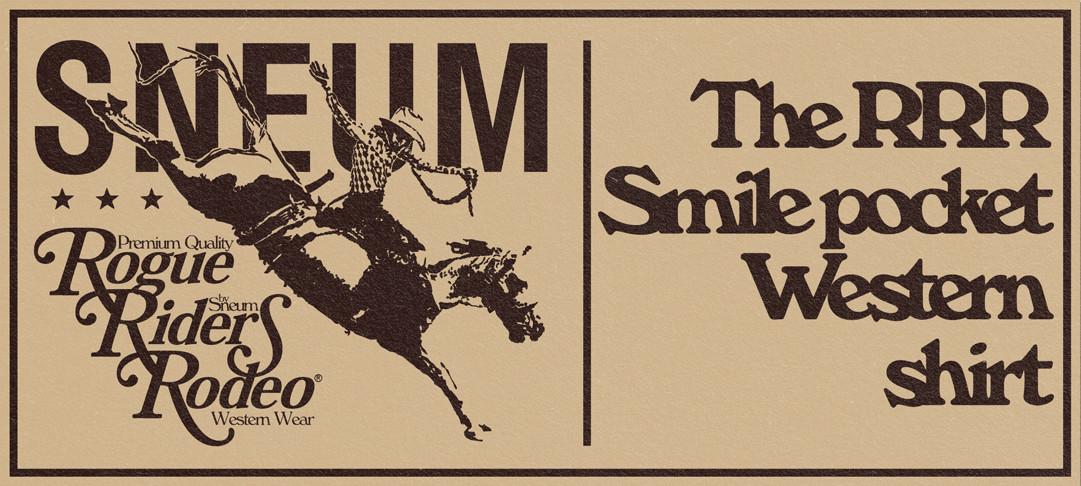 Smile pocket Western Shirt
