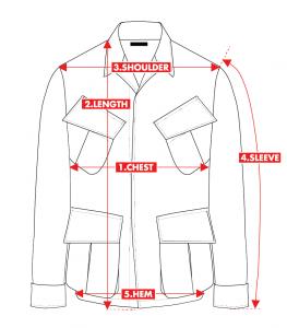 How-to-measure jungle jacket