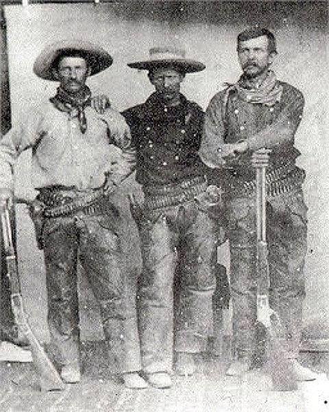 Cowboys with bandanas