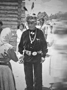 Navajo indian w. concho belt
