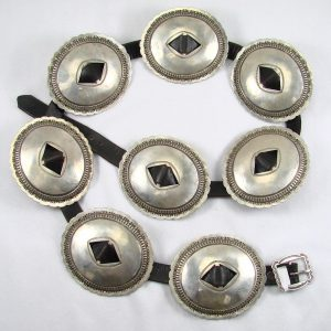 A Navajo concha belt (first phase)