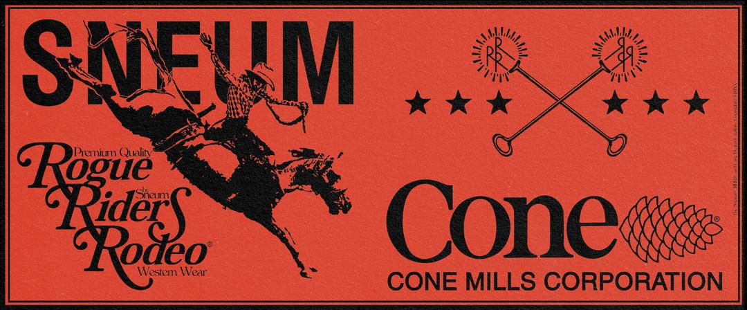 Cone denim mills x sneum