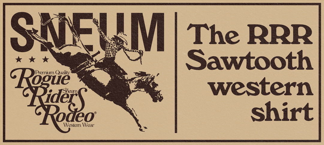 The RRR Sawtooth Western Shirt
