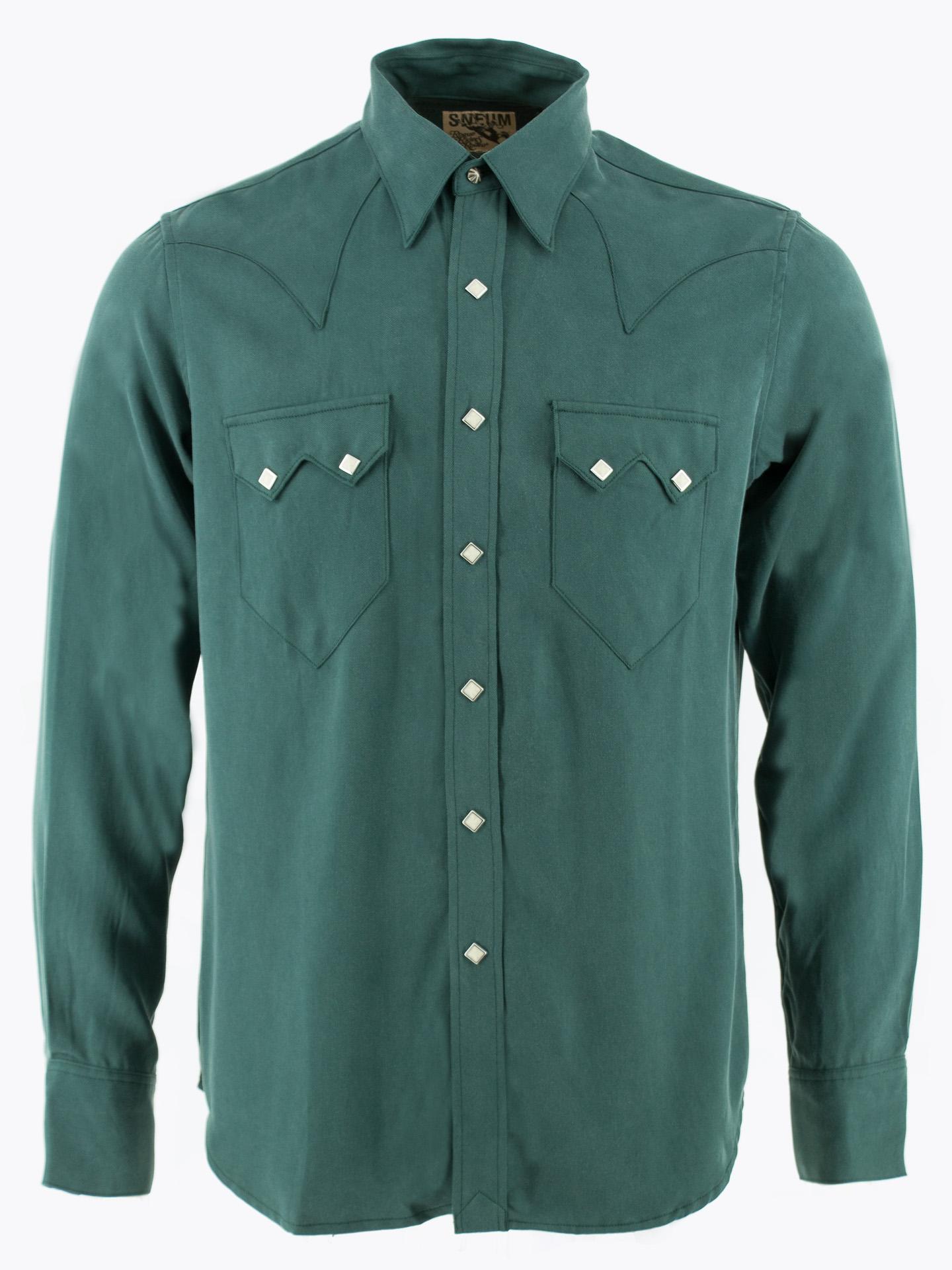 Sawtooth western shirt