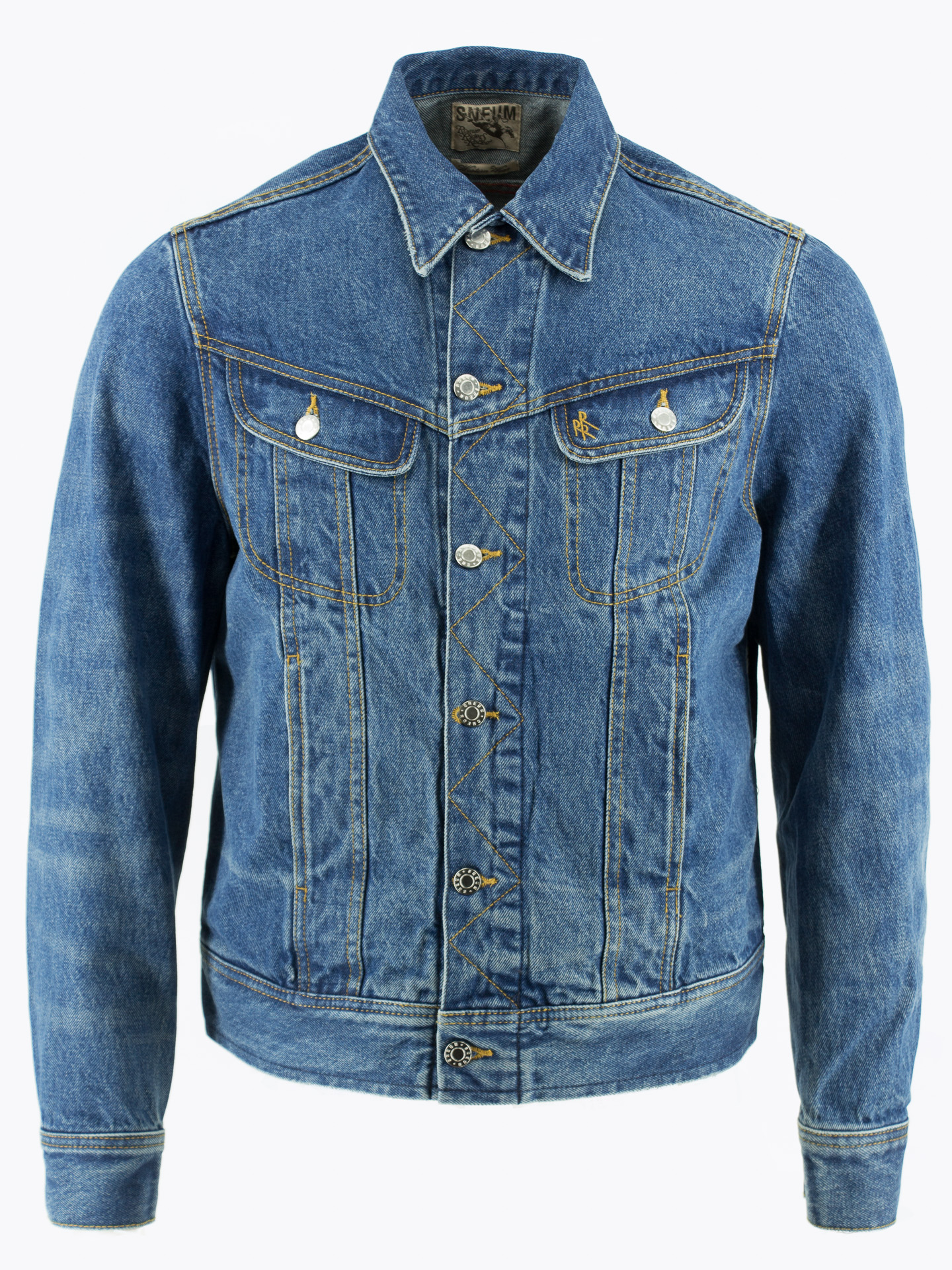 Rider denim jacket Cone denim Trucker jacket Western jacket