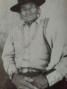 Traditional Navajo Man Hostéén Ádákáí