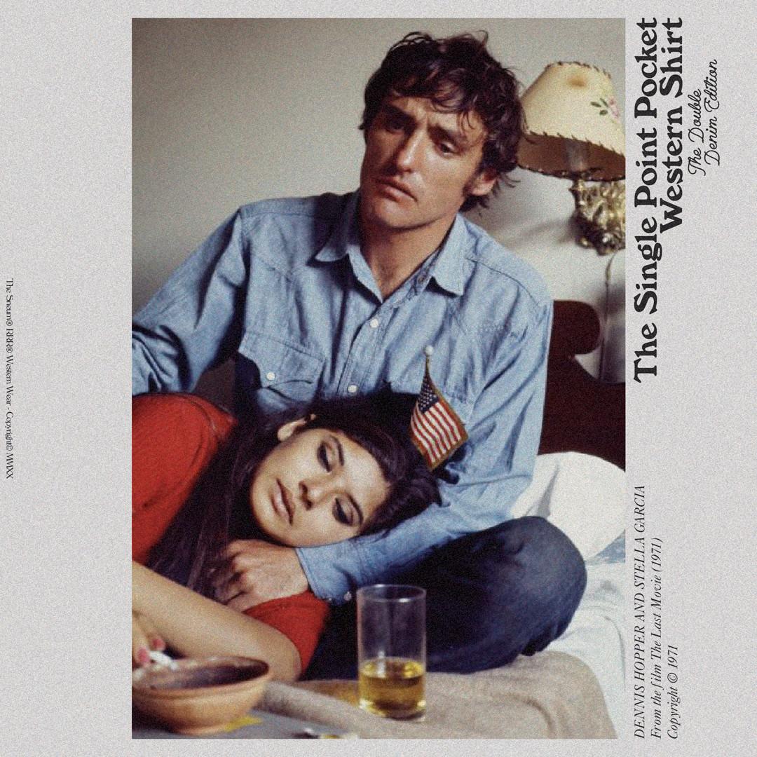 Dennis Hopper The Last Movie 1970 Denim shirt