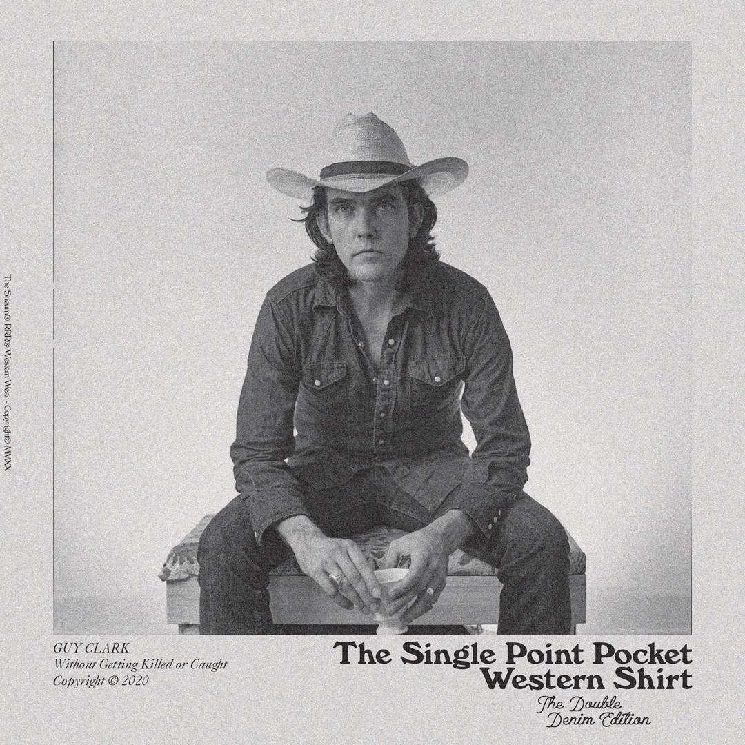 GUY CLARK Western shirt double denim