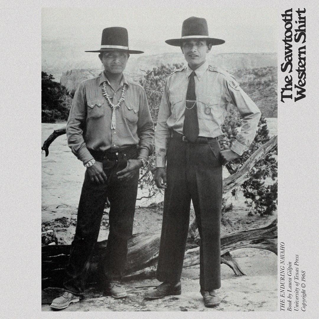 Sawtooth western shirt Navajo Native American