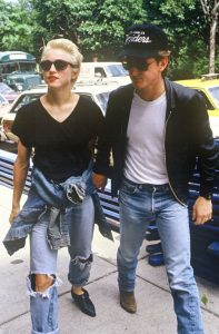 Sean Penn Madonna Trucker hat