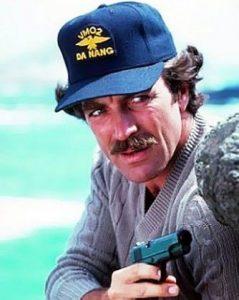 Tom Selleck Trucker hat