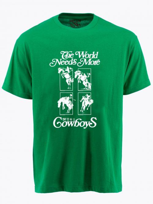 The world needs more cowboys t-shirt tee