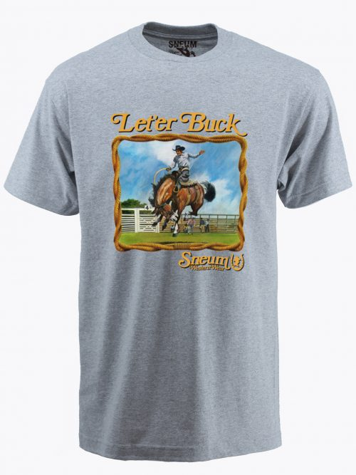 Let'er buck t-shirt