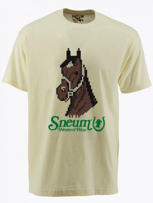 Pixel horse tee t-shirt